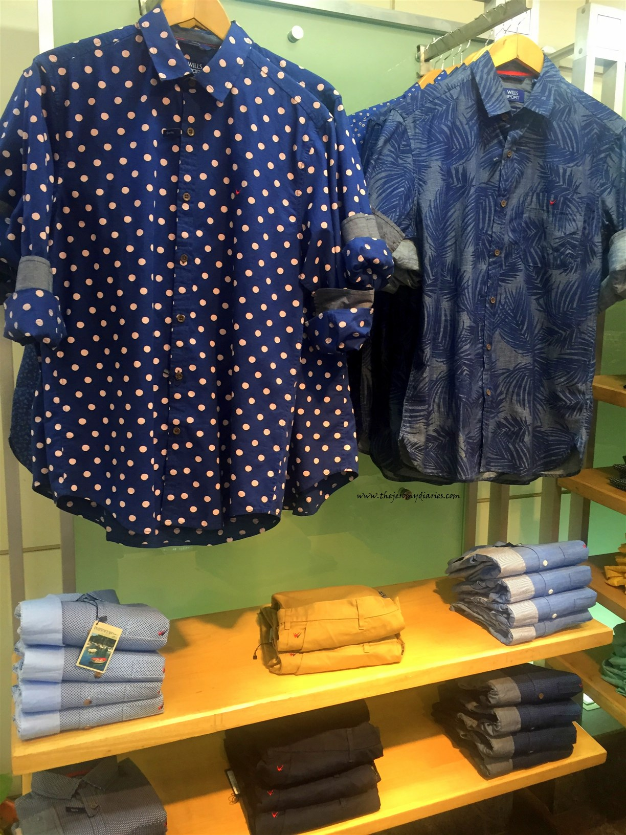 polka dot shirts for men wills lifestyle spring summr 2016 collection the jeromy diaries