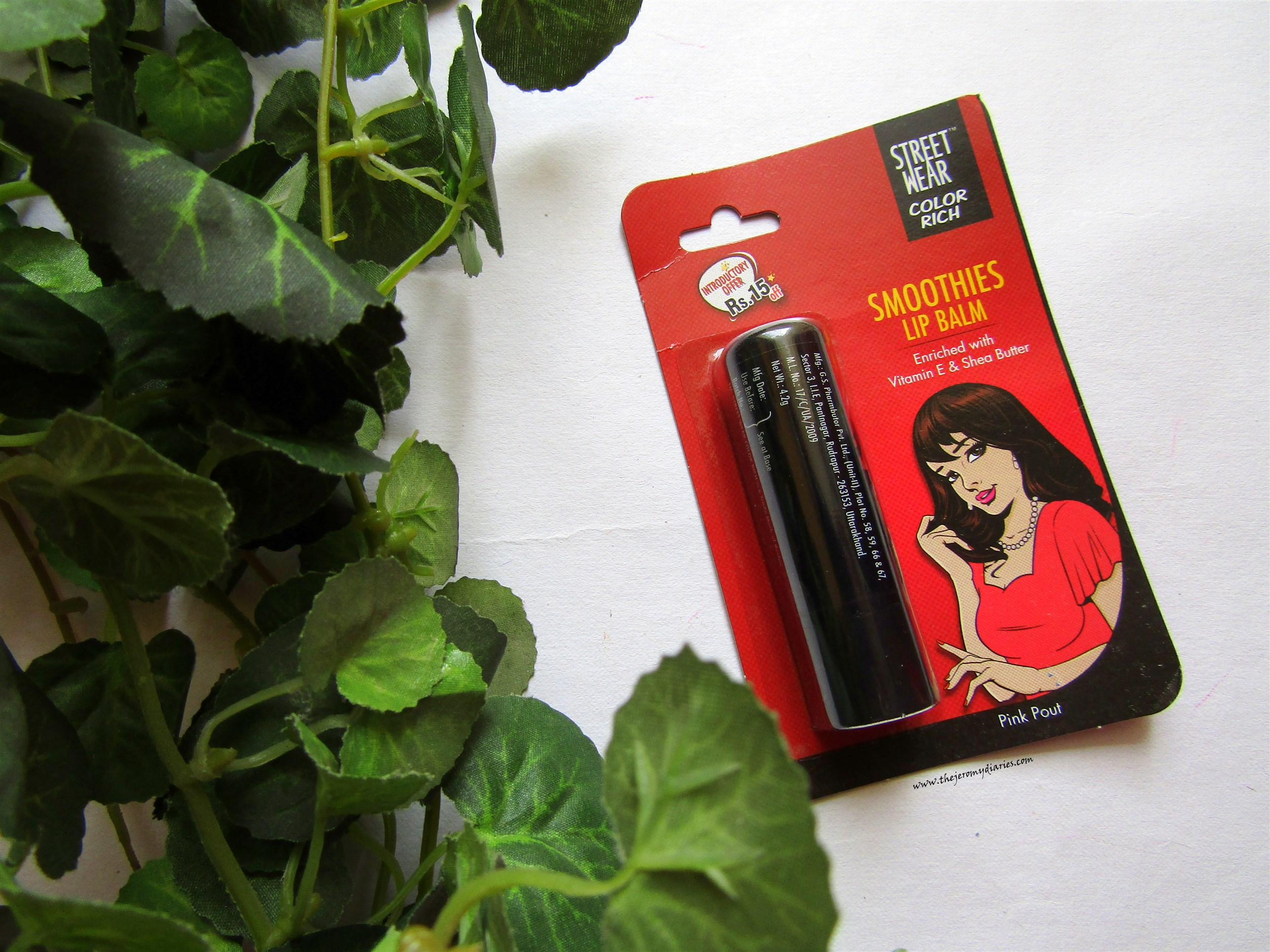 street wear colour rich smoothies lip balm in pink pout review the jeromy diaries
