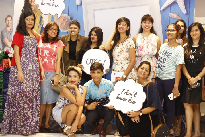 bangalore bloggers at unlimited fashion spring summer 2016 collection preview