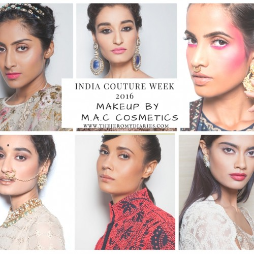 mac cosmetics exclusive makeup partners for india couture week 2016