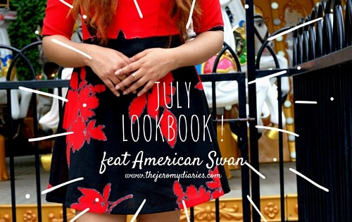 the jeromy diaries july lookbook in collaboration with american swan