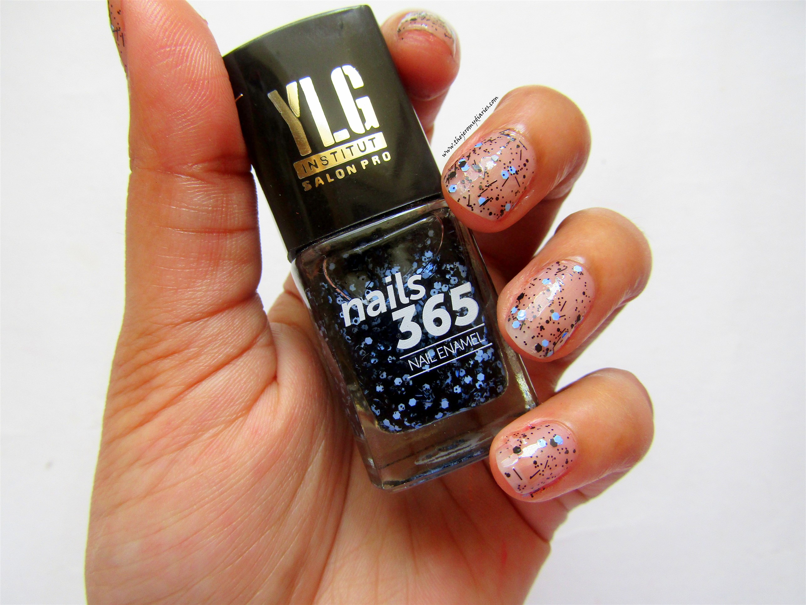 ylg nails 365 blue nail art swatches the jeromy diaries