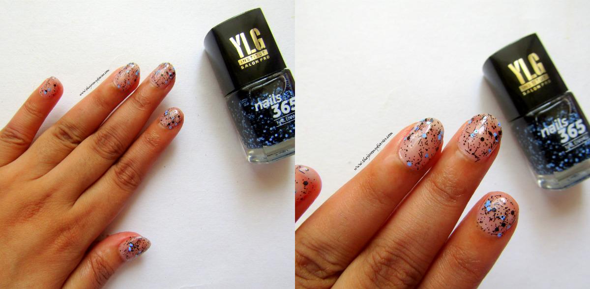 ylg nails 365 blue nail art swatches