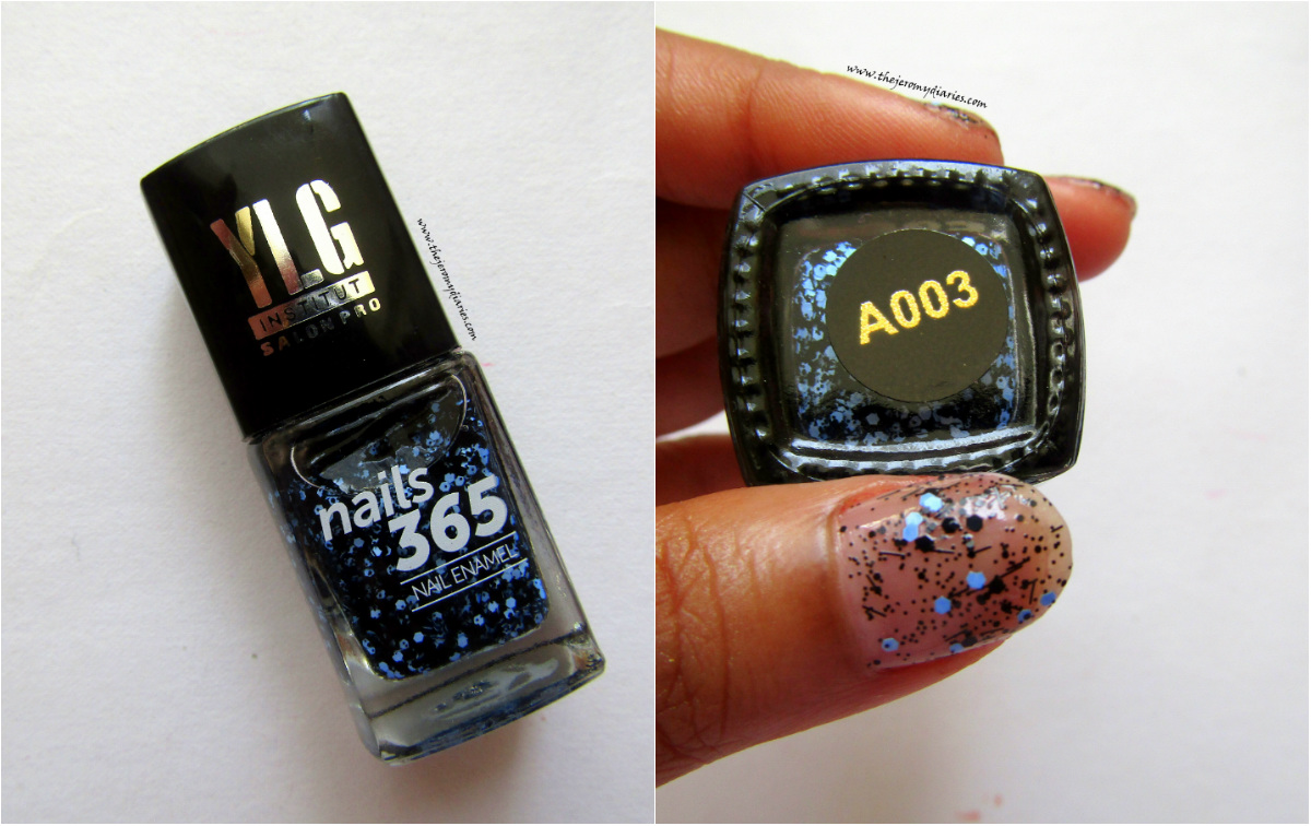 ylg nails 365 blue nail art the jeromy diaries