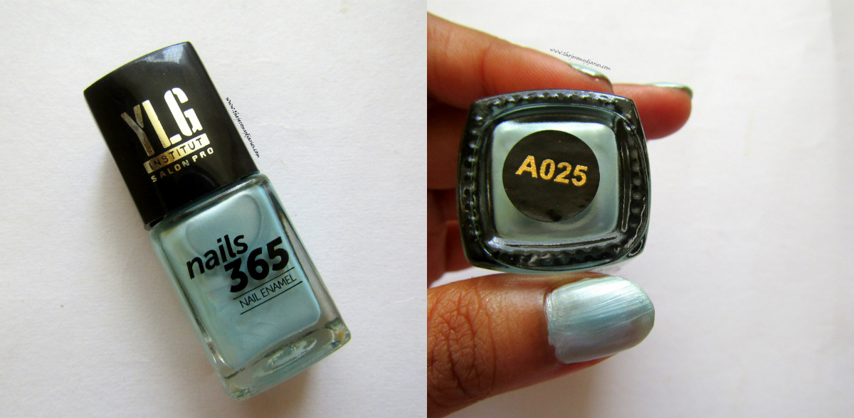 ylg nails 365 blue nail paint the jeromy diaries