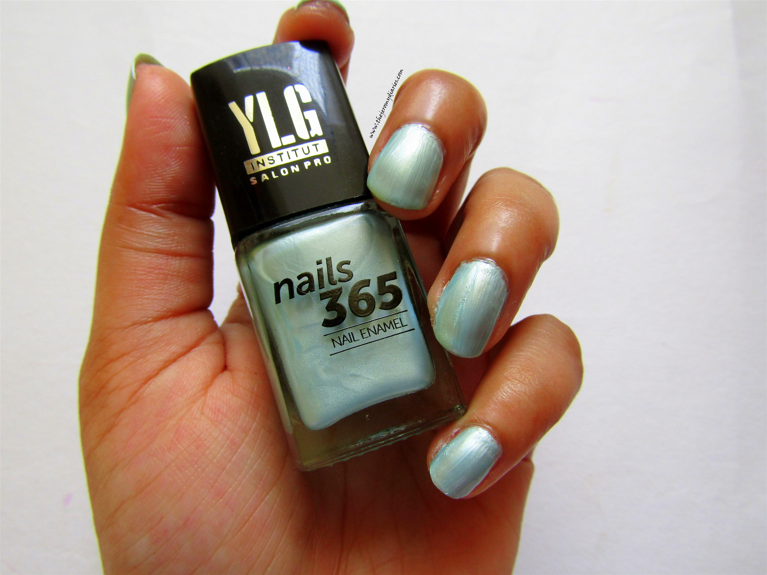 ylg nails 365 blue shade nail paint swatches the jeromy diaries