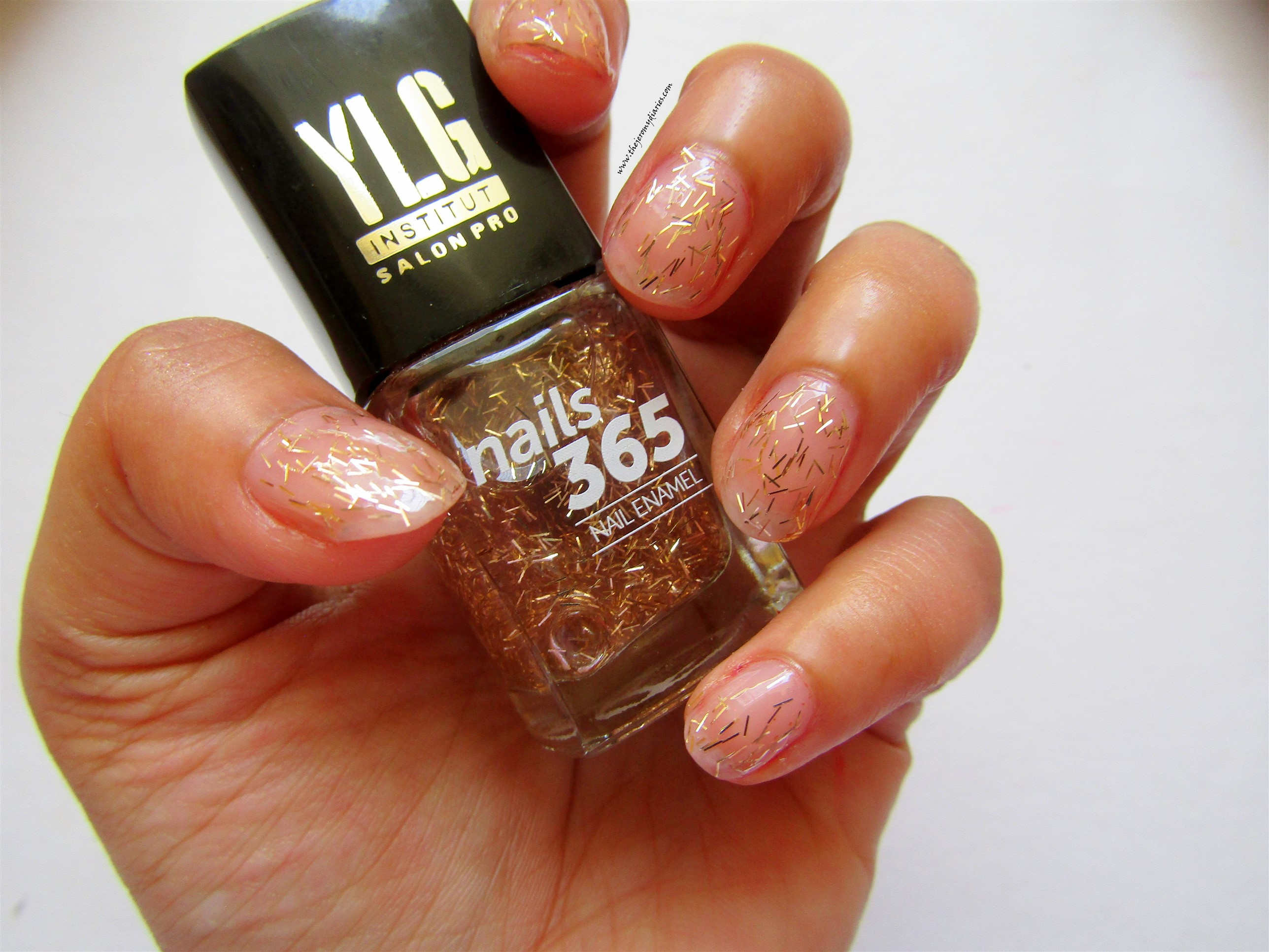 ylg nails 365 gold nail art swatches the jeromy diaries