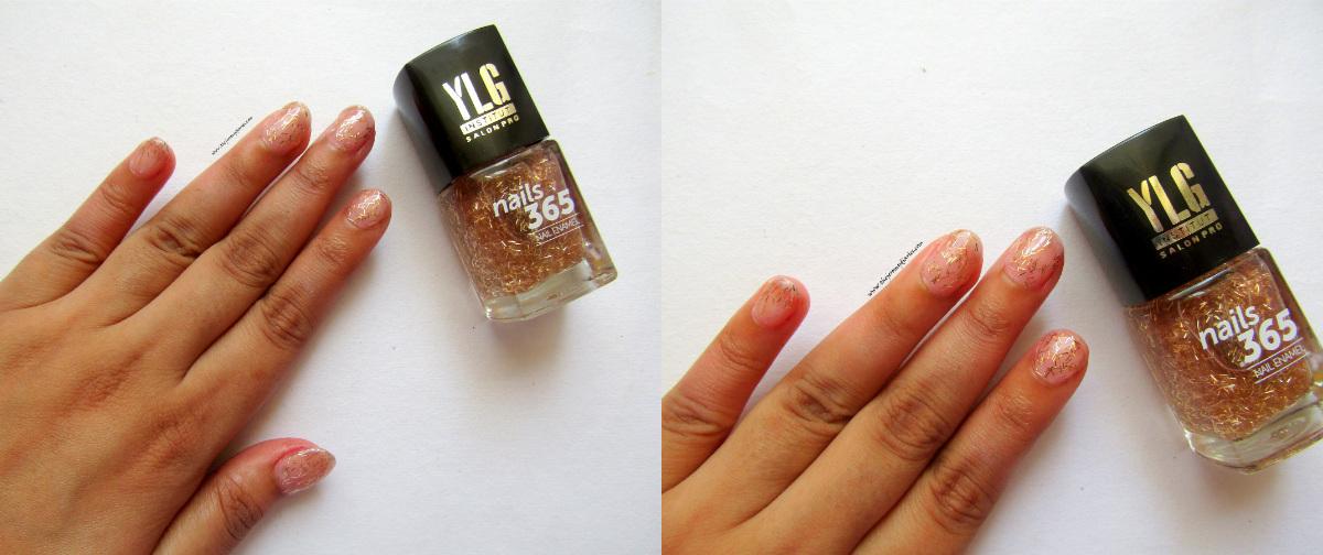 ylg nails 365 gold nail art swatches