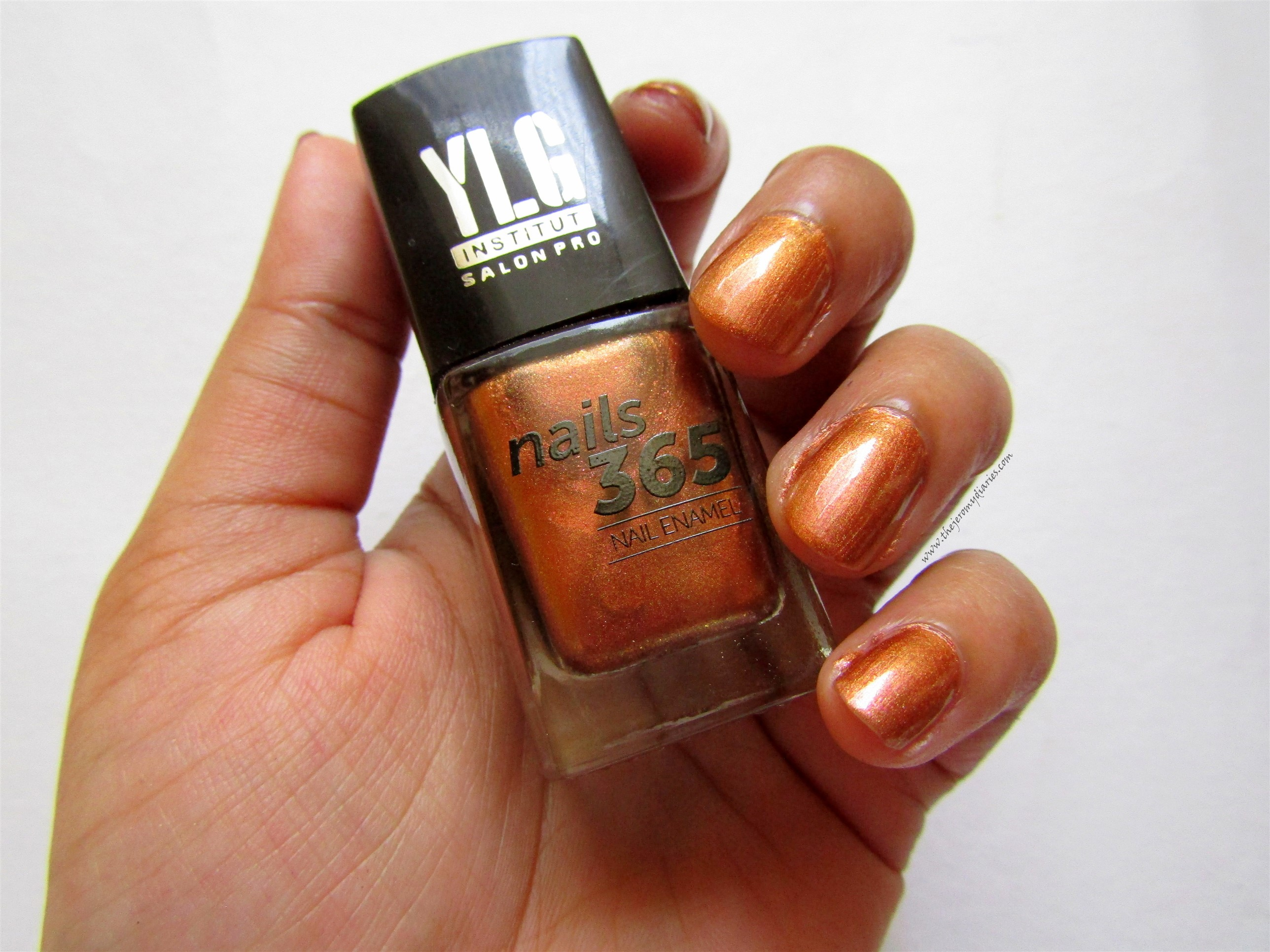 ylg nails 365 gold nail paint swatches the jeromy diaries