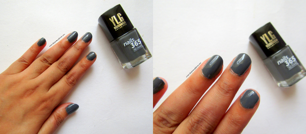 ylg nails 365 grey nail pain swatches