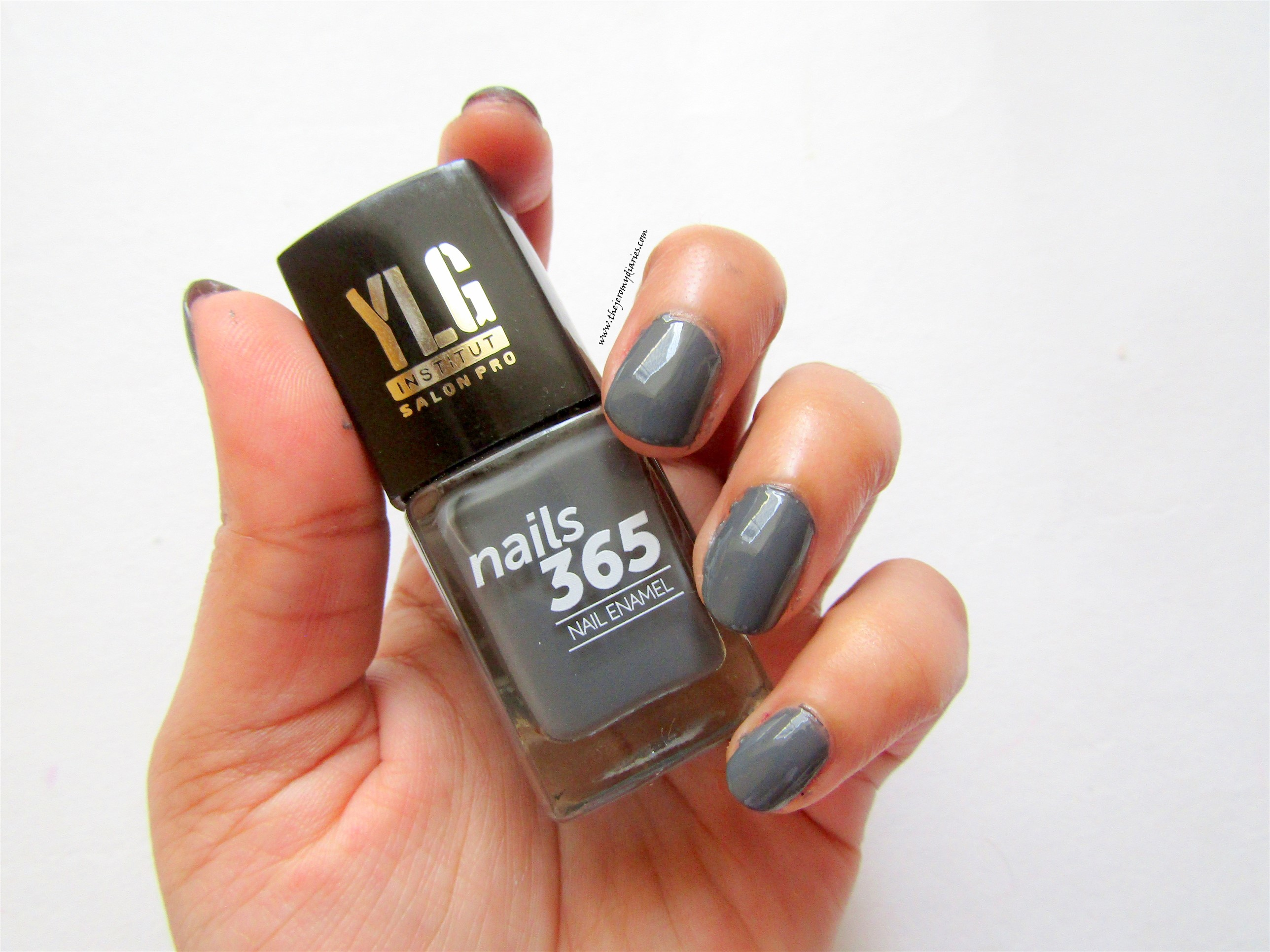 ylg nails 365 grey nail paint swatches the jeromy diaries