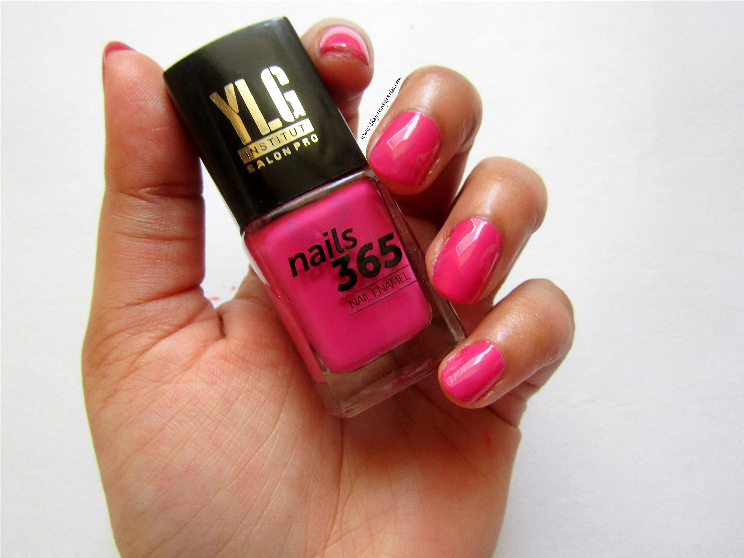 ylg nails 365 pink shade nail paint swatches the jeromy diaries
