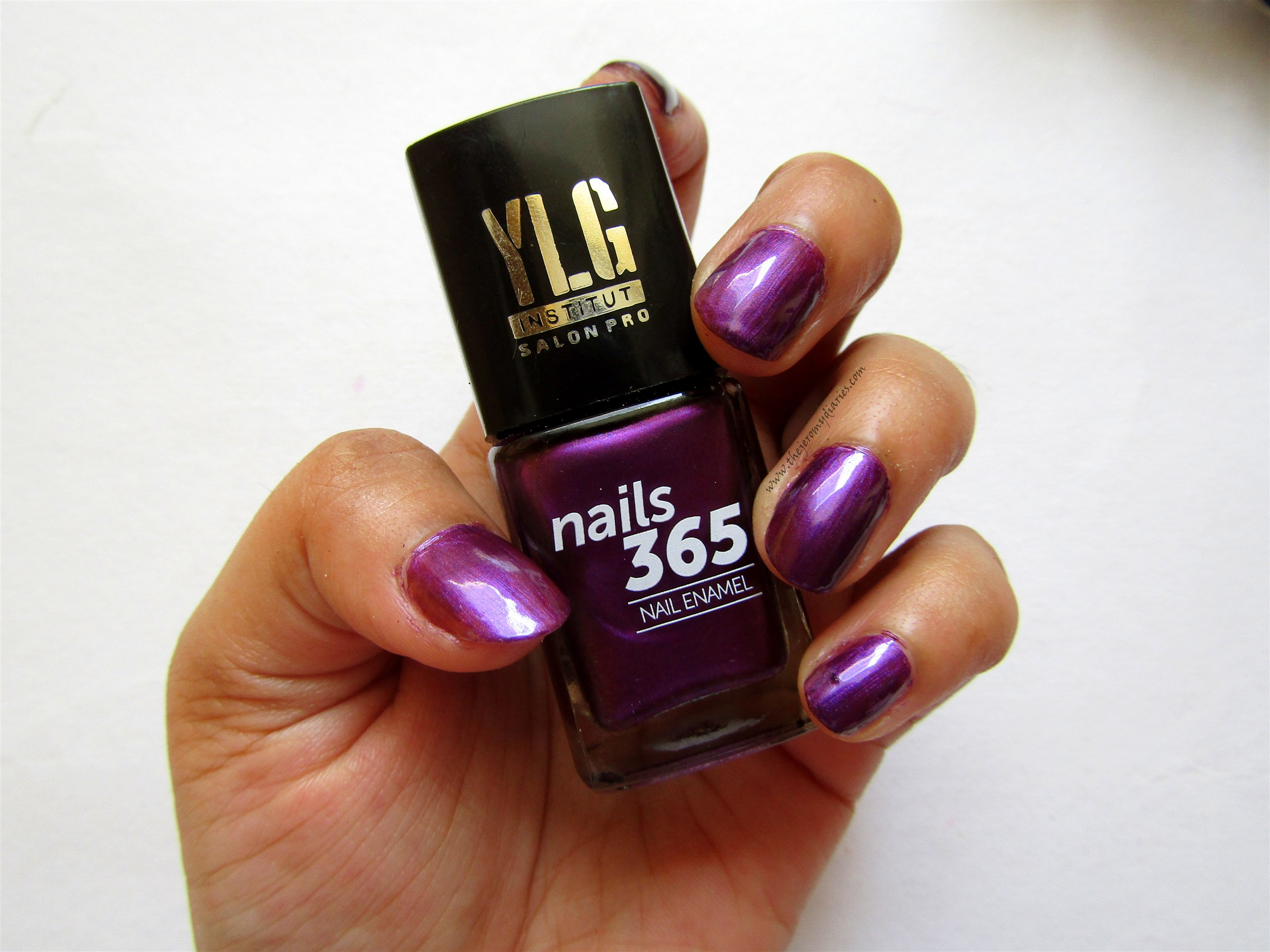 ylg nails 365 purple nail paint swatches the jeromy diaries