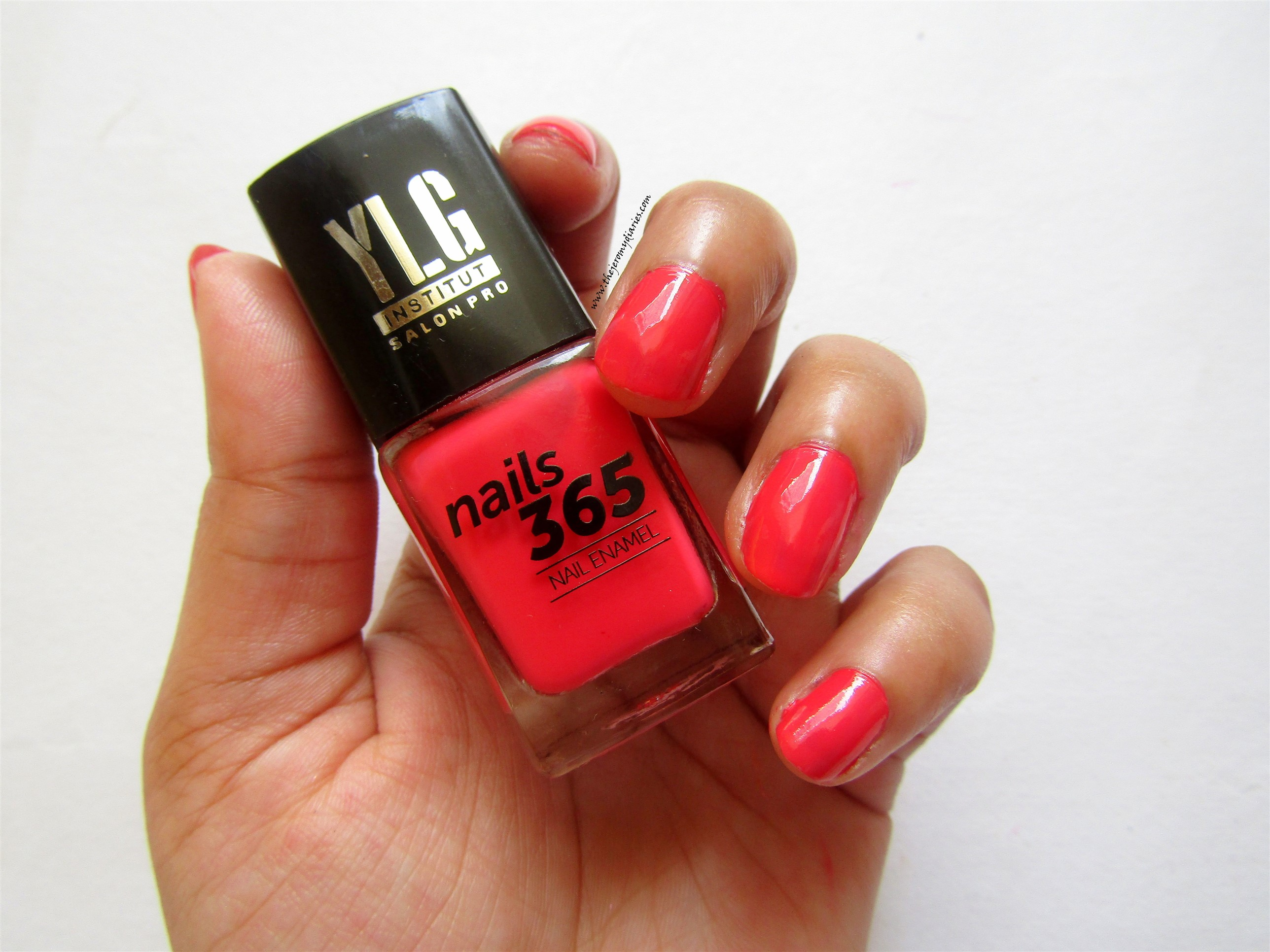 ylg nails 365 red shade nail paint swatches the jeromy diaries