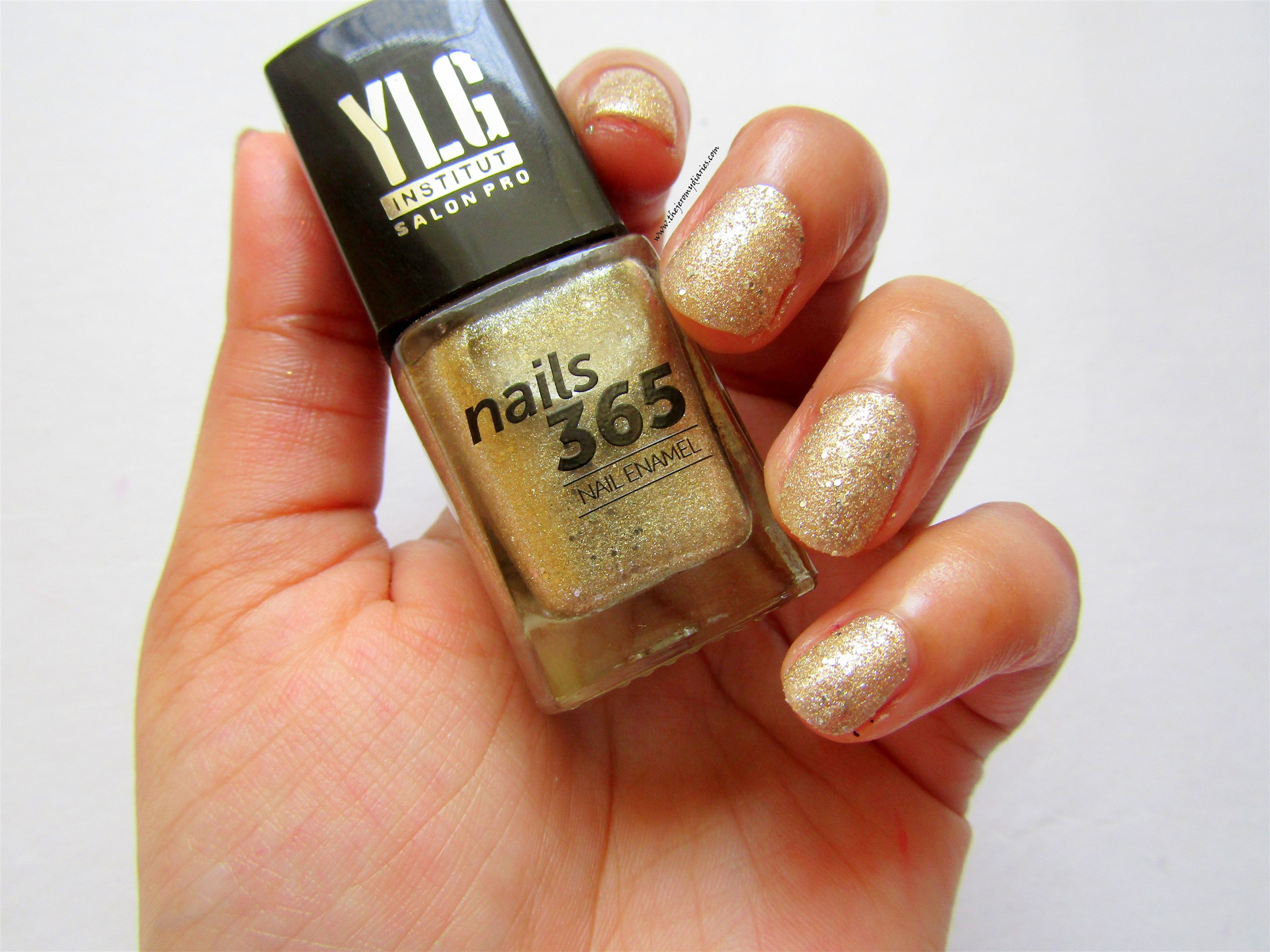 ylg nails 365 silver glitter nail paint swatches the jeromy diaries