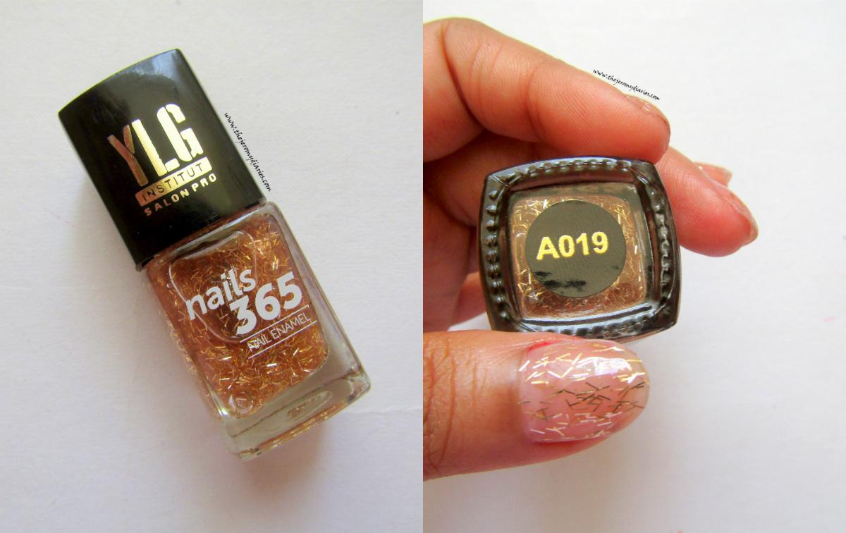ylg nais 365 gold nail art the jeromy diaries