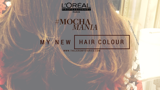 Talking about my new hair colour with L'Oreal Professionnel #MochaMania at Play Salon