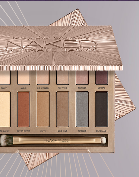 urban decay naked ultimate basics eyeshadow matte palette