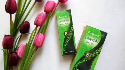 Trying out ayurvedic hair care with Banjara's Samvridhi range