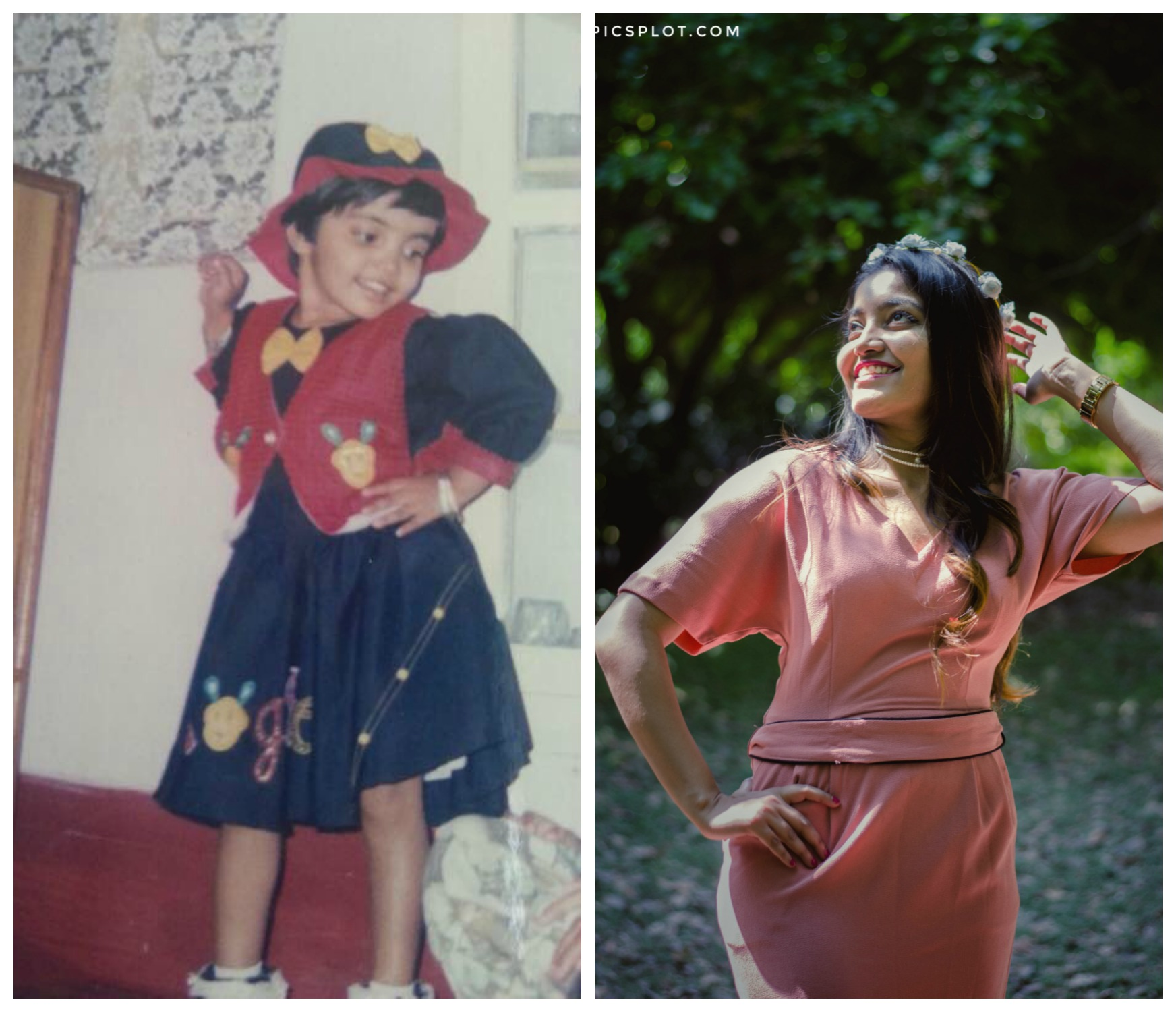 princy mascarenhas fashion blogger the jeromy diaries childhood picture
