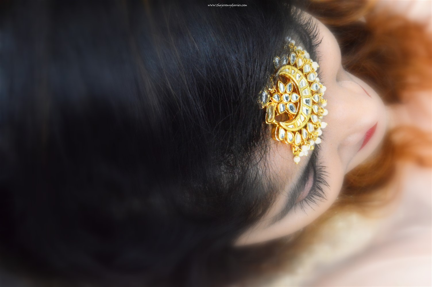anahe jewellery maang tika the jeromy diaries fashion blogger