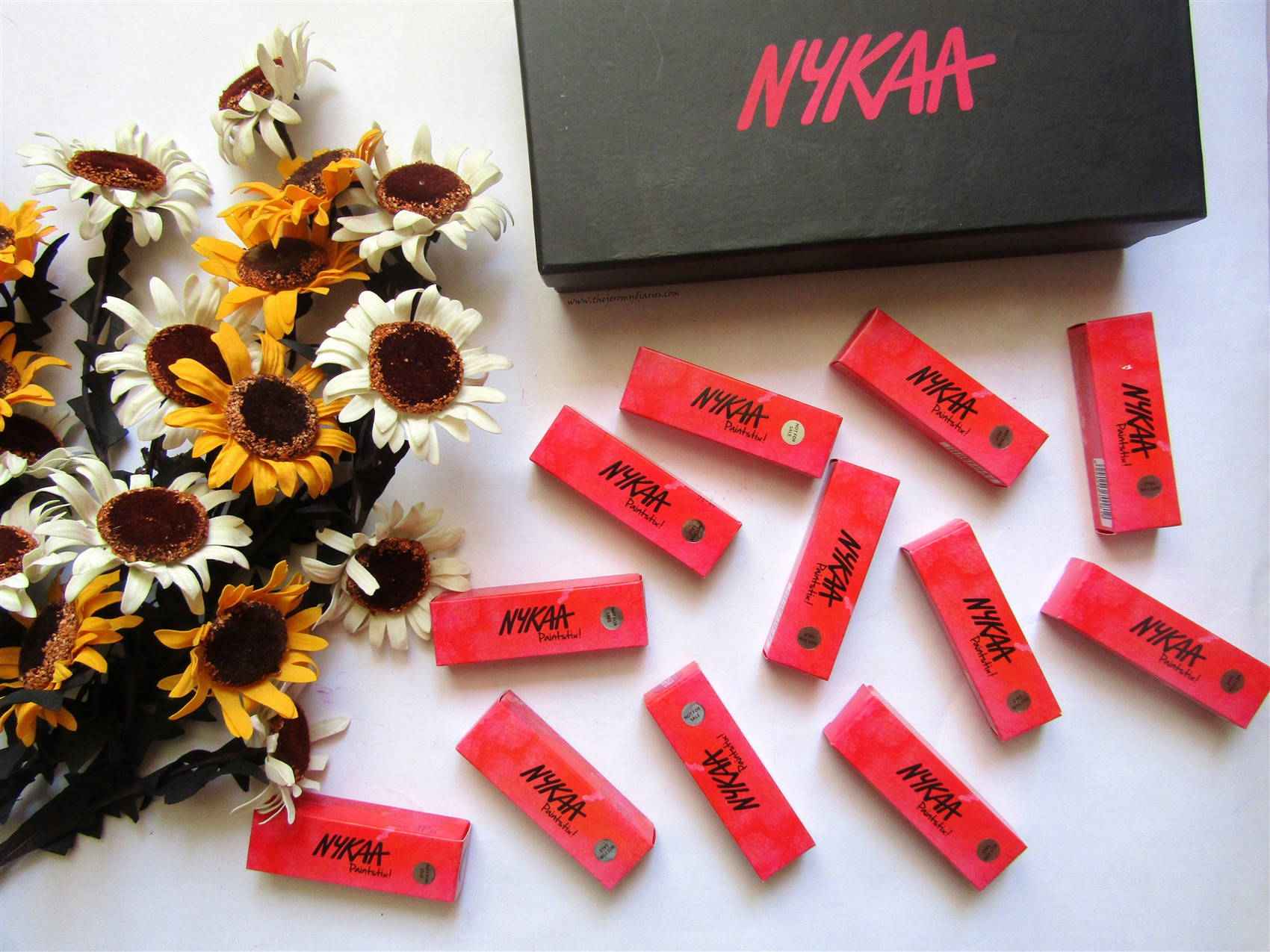 nykaa paintstix launch all 12 shades the jeromy diaries