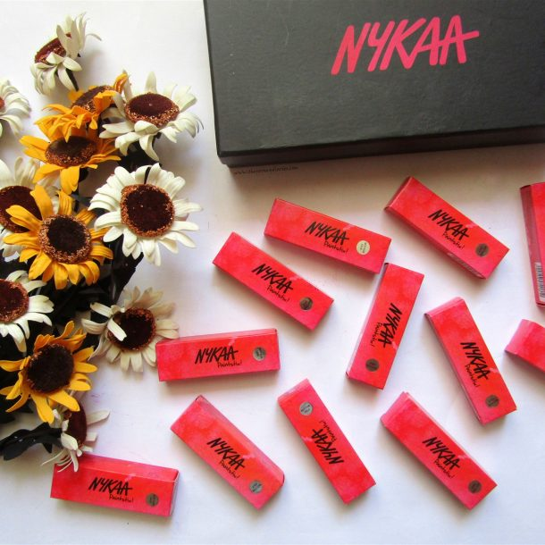 Nykaa Paintstix Review | Swatches of all 12 shades