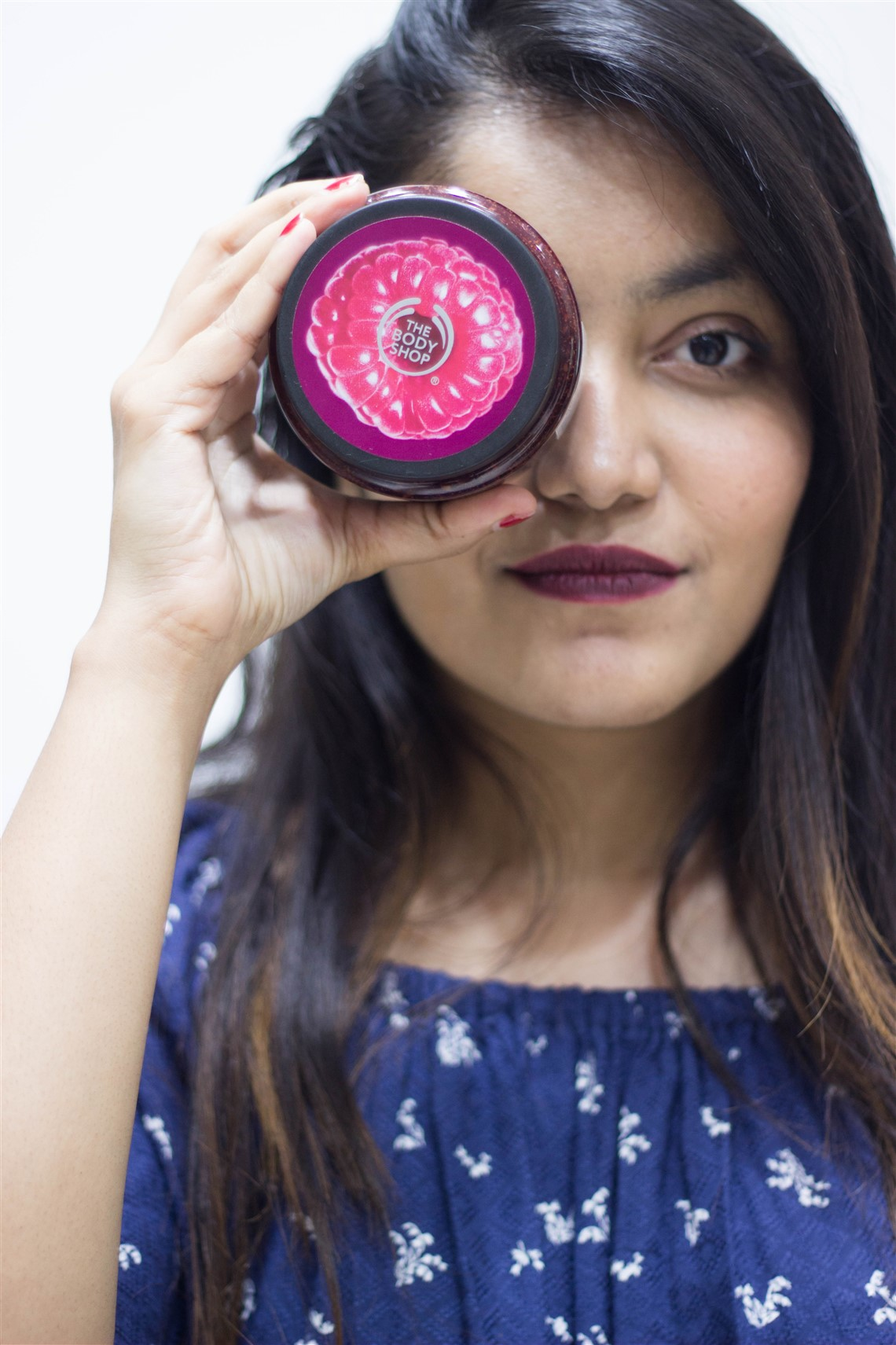 beauty blogger princy mascarenhas of the jeromy diaries for the body shop india