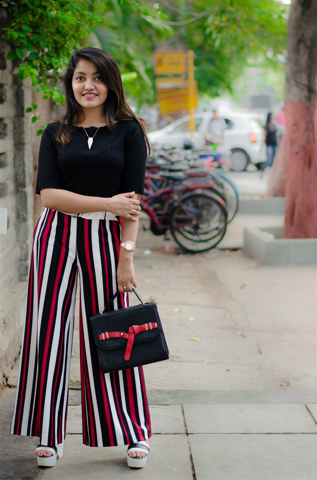 black and stripes the jeromy diaries street style fashion