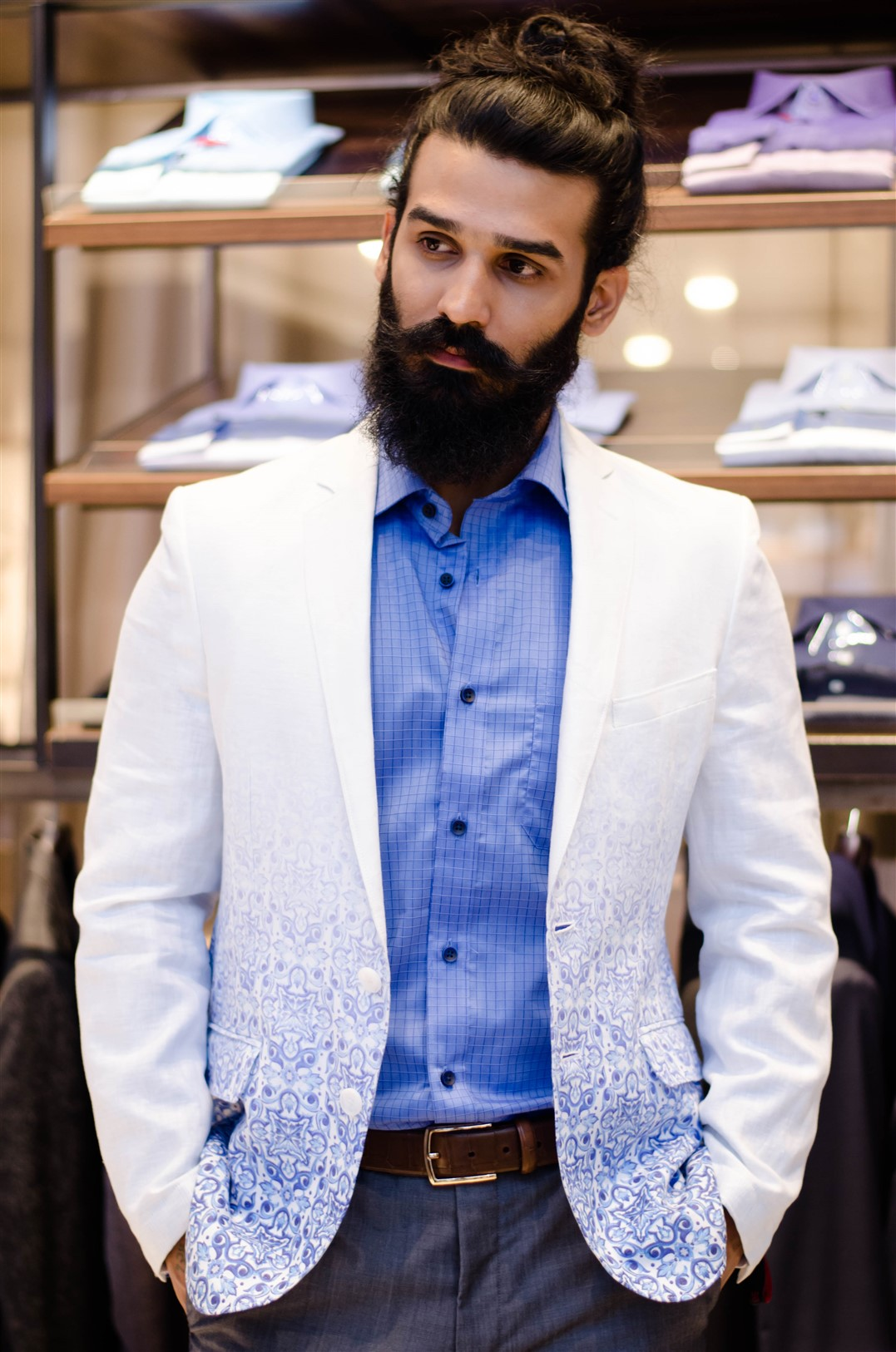 ombre jacket raymond the complete man the jeromy diaries