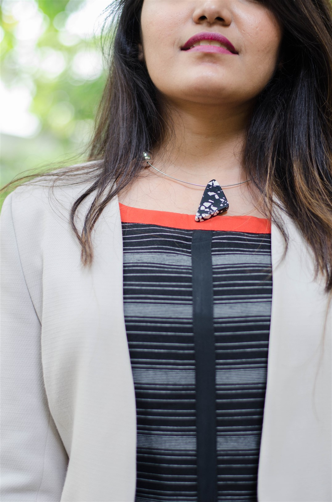 hm choker the jeromy diaries indian fashion blogger