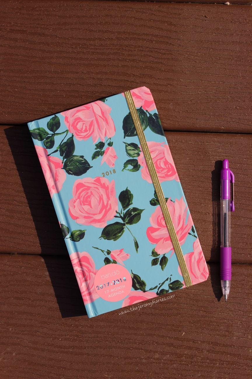 bando agenda planner 2017 the jeromy diaries
