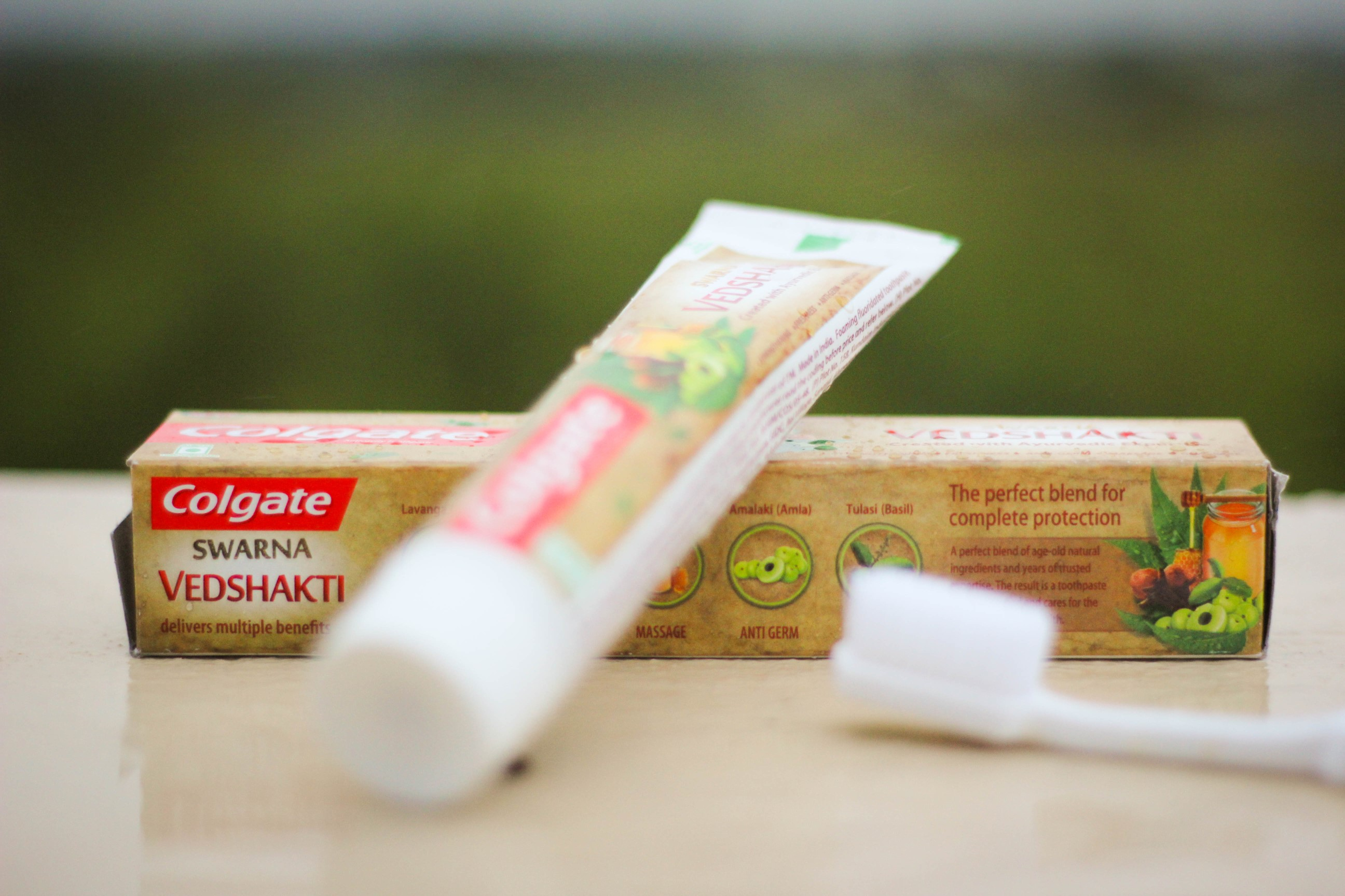 colgate vedshakti herbal toothpaste review india