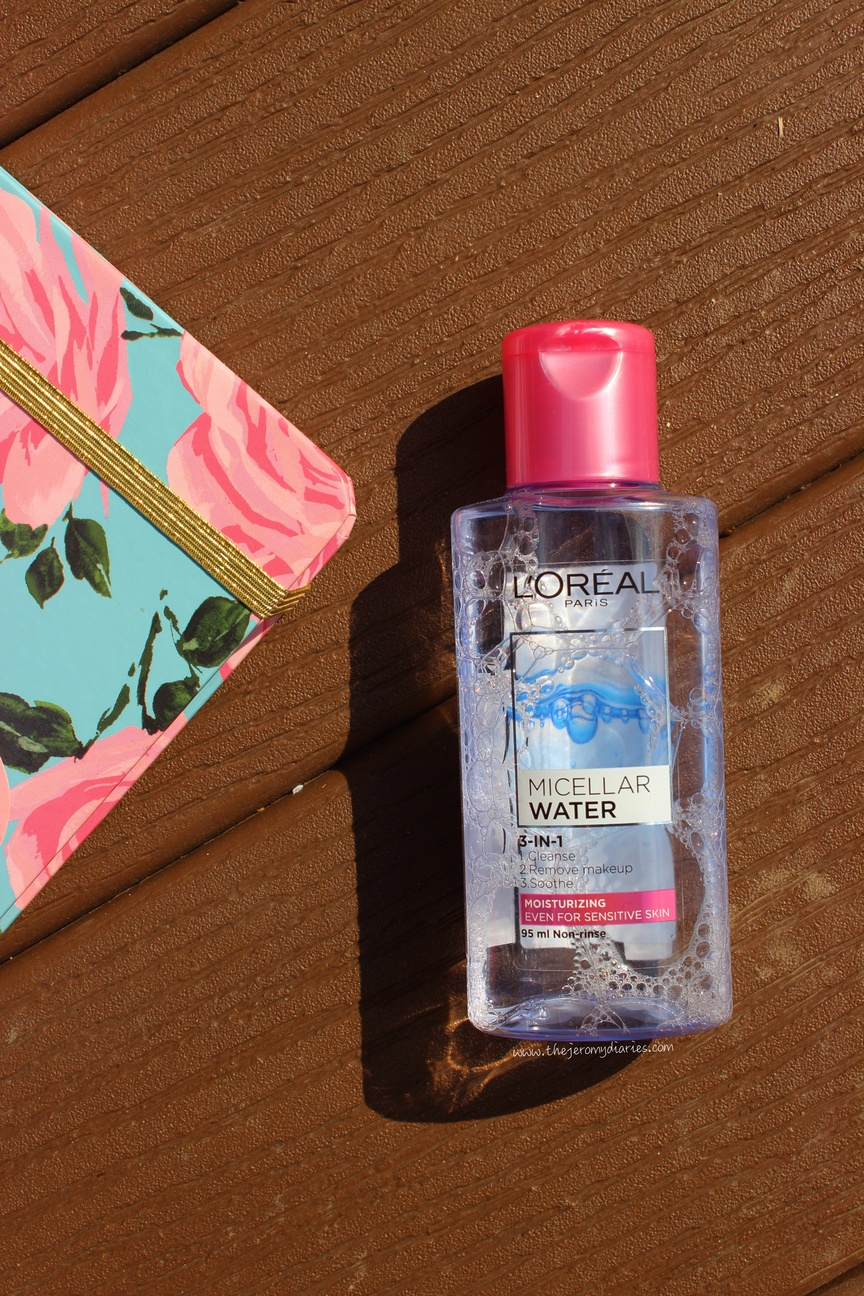 loreal micellar water review the jeromy diaries