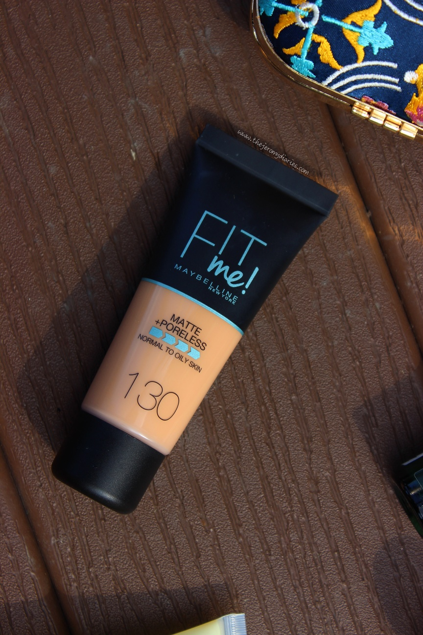 maybelline fit me matte poreless foundation review the jeromy diaries