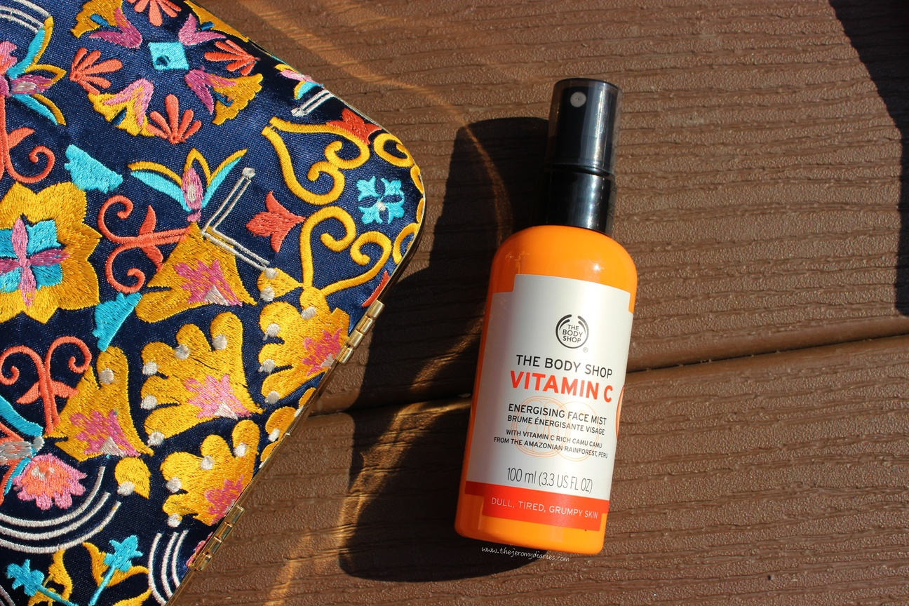 the body shop vitamin c energizing boost the jeromy diaries