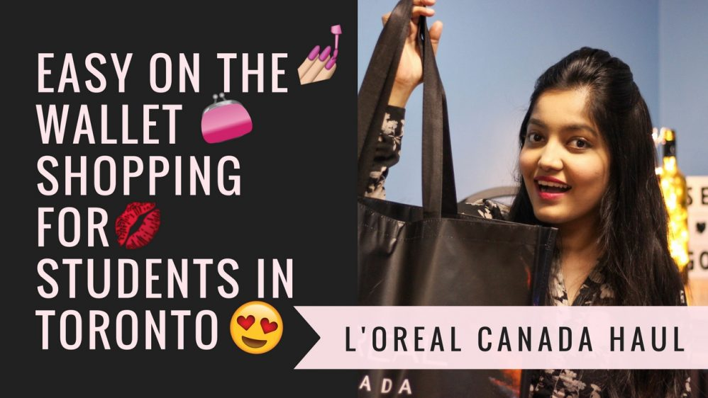 L'Oreal Canada Private Sale Haul