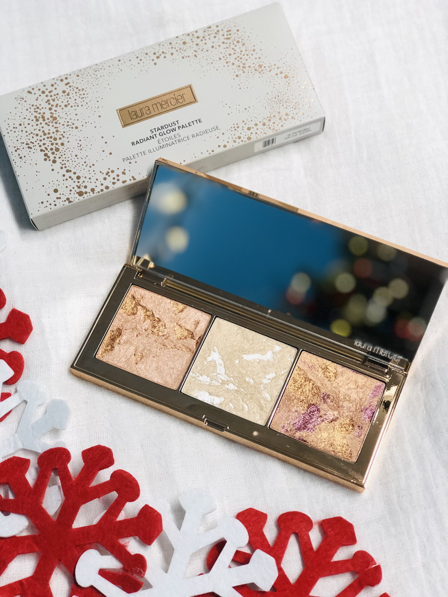 laura mercier holiday 2018 stardust glow palette review the jeromy diaries