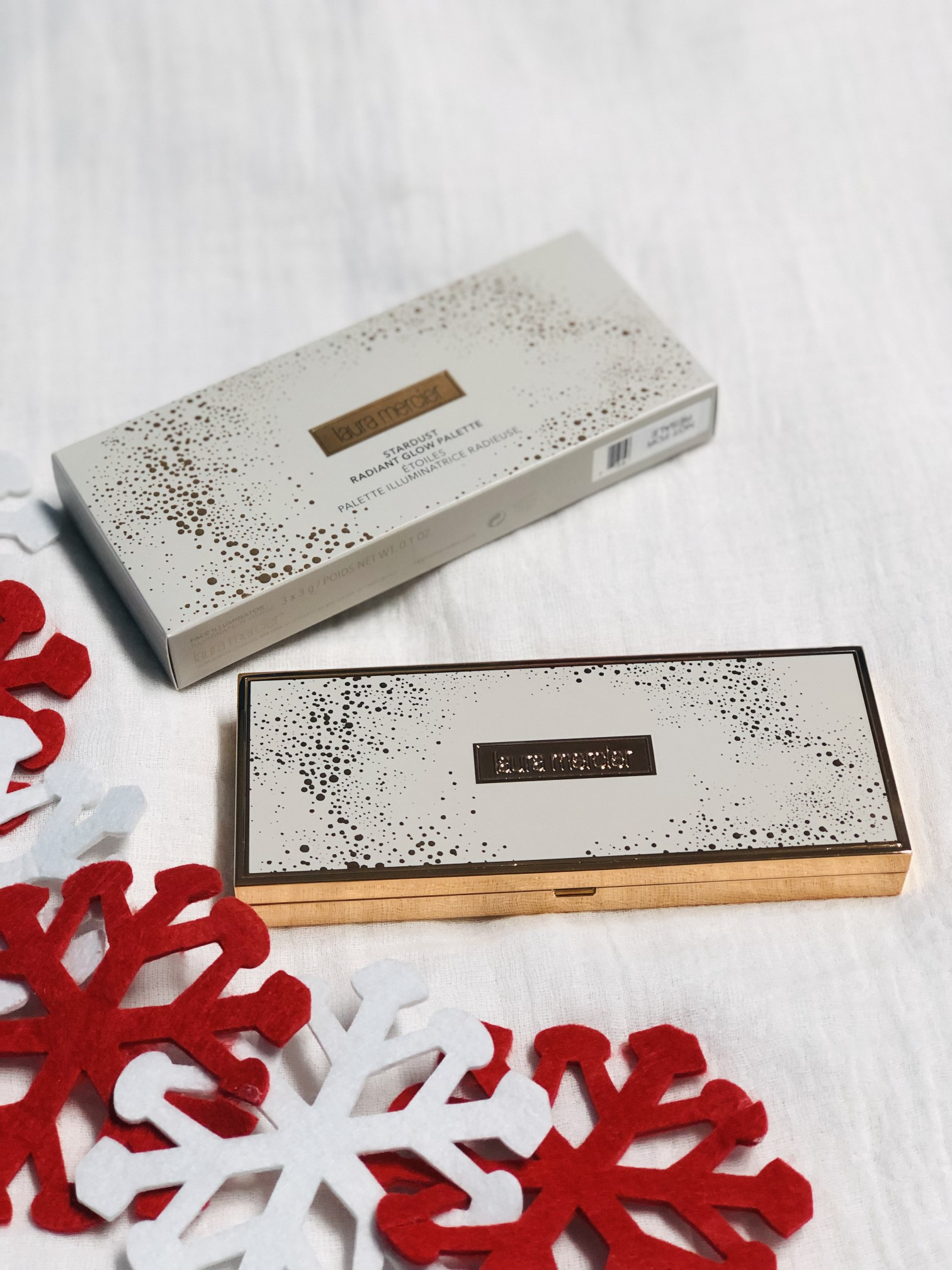 laura mercier stardust glow palette holiday 2018 collection