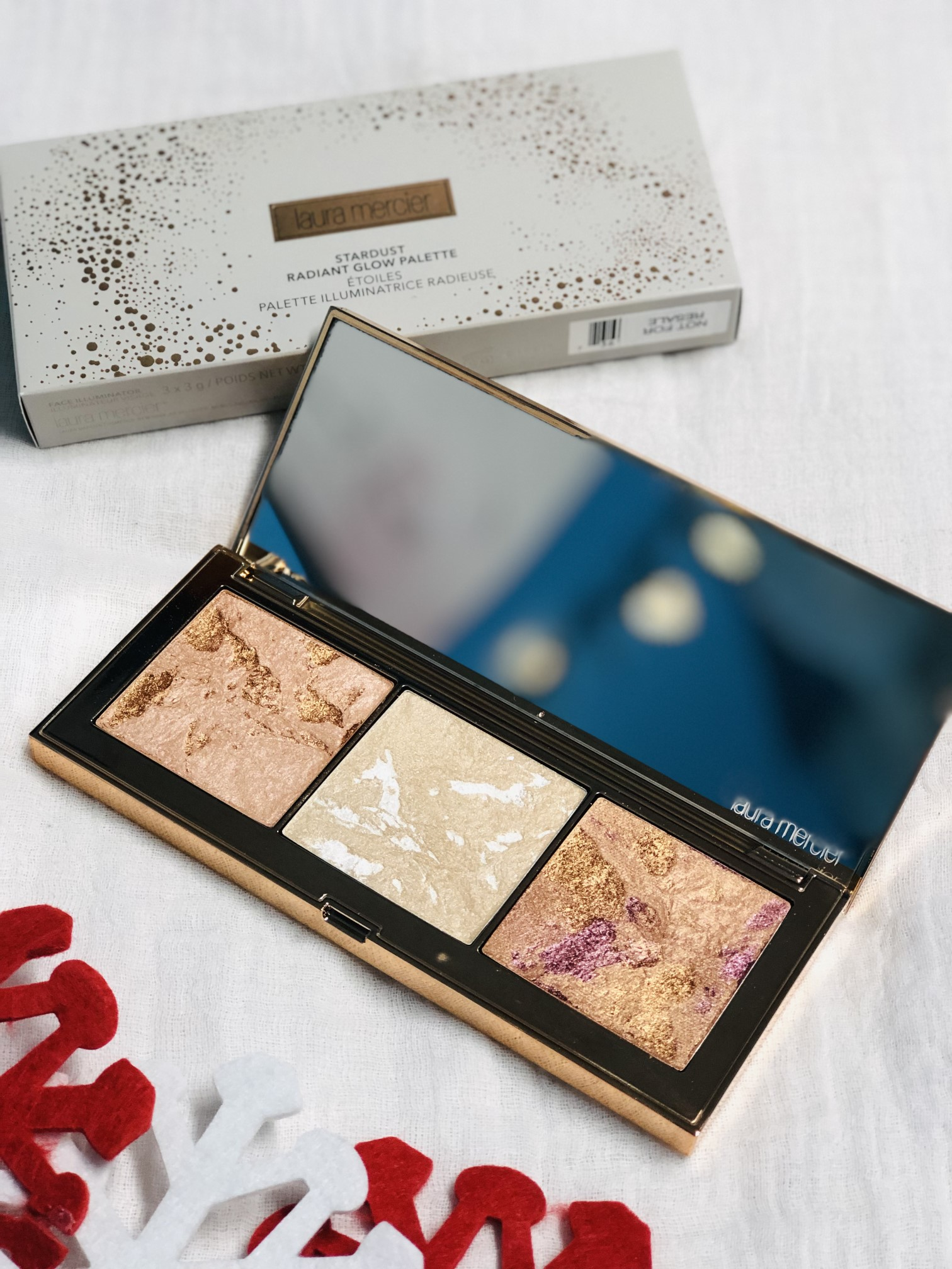 laura mercier stardust glow palette holiday 2018