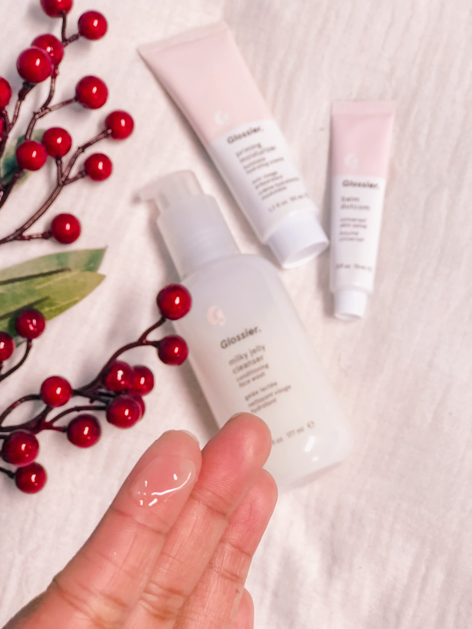 best makeup cleansers glossier the skincare set the jeromy diaries