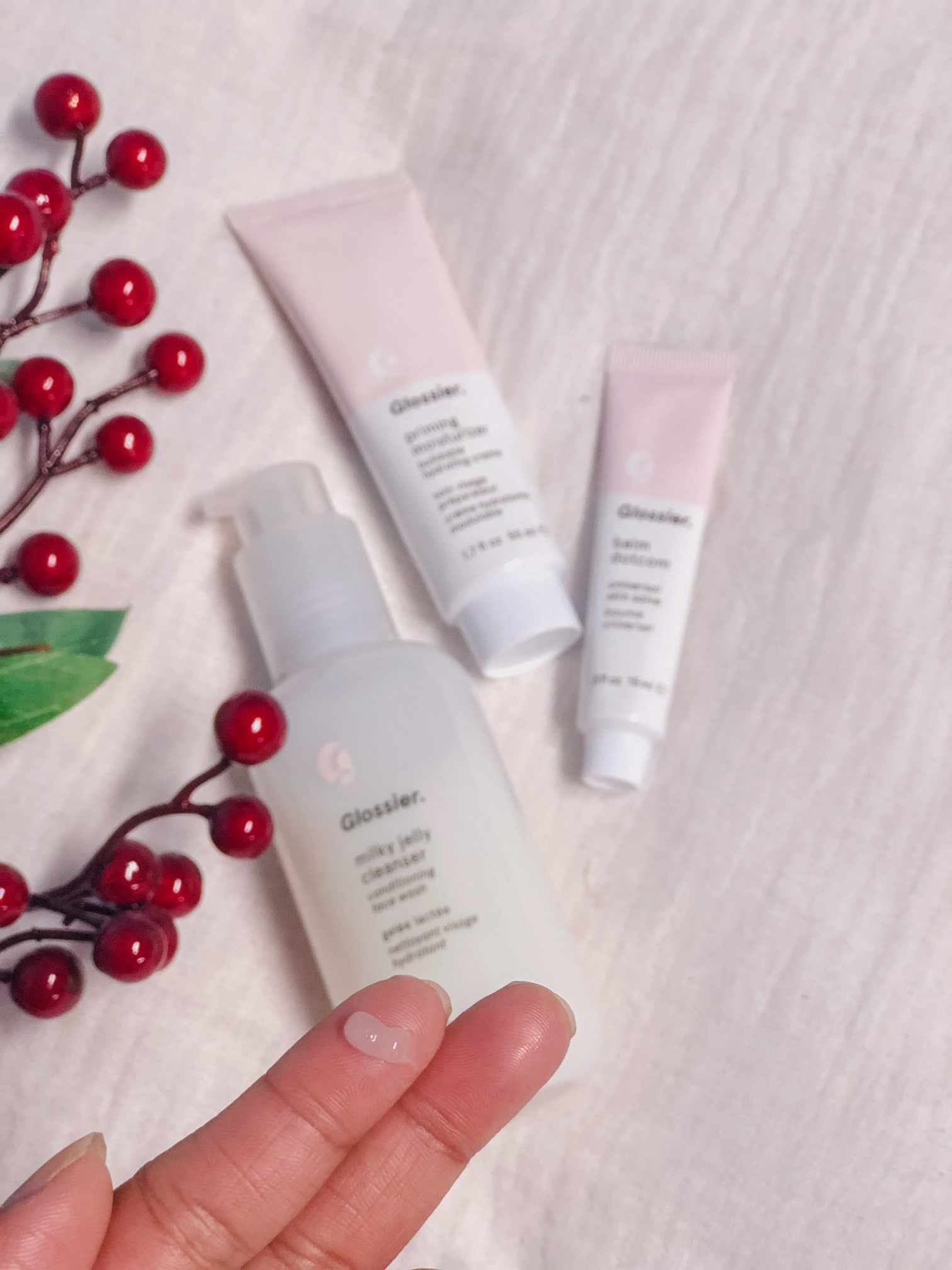 glossier milky jelly cleanser review cost the jeromy diaries