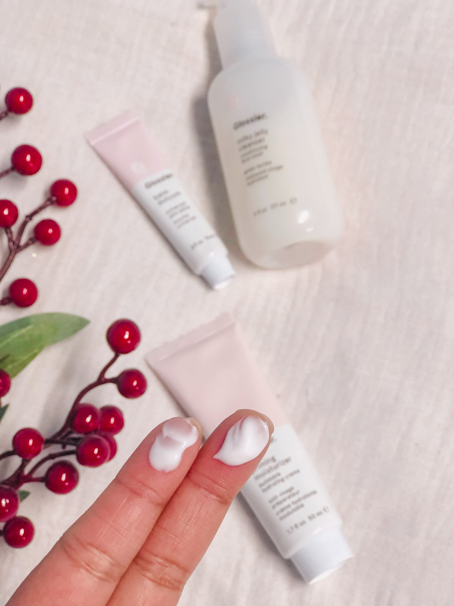 glossier priming moisturizer price, availability revoew the jeromy diaries