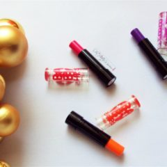Maybelline Baby Lips Electro Pop Pink Shock,Berry Bomb and Oh Orange Review,Swatches,Price and Availability in India